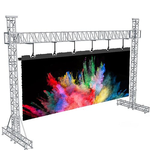 Stage Concert Advertising RGB Indoor P3.91mm Led Video Wall Panel Full Color Rental Led Display Screen
