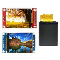 D02 1.77 1.8 inch TFT LCD Module LCD Screen SPI serial 51 drivers 4 IO driver TFT Resolution 128*160 1.8 inch TFT interface