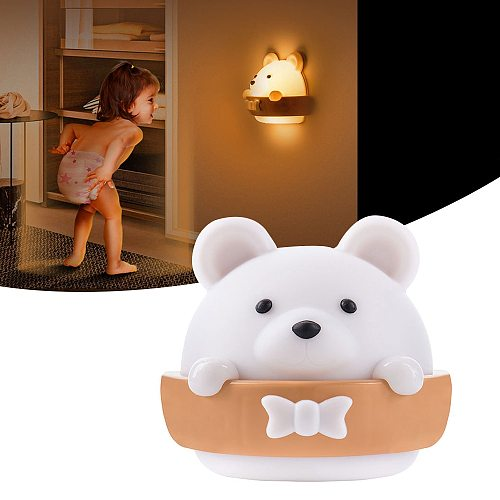 LED Night Light USB Recharge Wall Lamp Remote Control Wall Lamps  Baby Children's Night Light Gift Lantern Bedroom Bedside Light