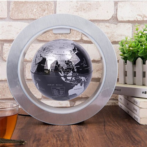 Novelty Round LED Floating Globe Magnetic Levitation Night Light Antigravity ideas Lamp Ball For Children Kids Gifts World Map