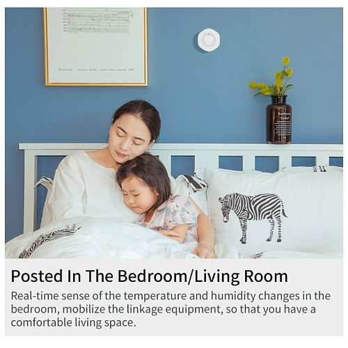 Tuya Smart Home Siren Alarm Sensor Linkage With Temperature Humidity Sensor Tuya Smart Life Alexa Temperature And Humidity Alarm