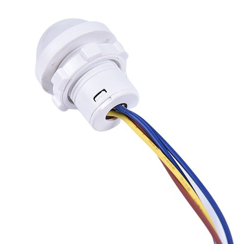 1pc home indoor outdoor Infrared Light Motion Sensor Time Delay Home Lighting  Switch Led Sensitive night lamp