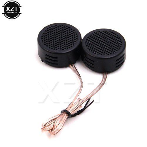 High Quality 1pair Universal High Efficiency Mini Dome Tweeter Loudspeaker 2x 500W Loud Speaker Super Power Audio Sound for car