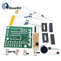 16 Music Sound Box BOX-16 Board 16-Tone Electronic Module DIY Kit Parts Components Soldering Practice Learning Kits for Arduino