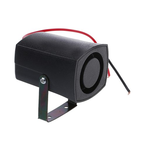 DC12V Auto Warning Siren Backup Alarms Horns Beep Reverse Slim Invisible Horn Y98C