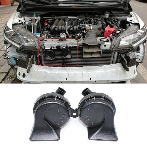 Snail horn for Volkswagen Magotan Jetta Sagitar golf series waterproof low pressure speaker super loud electric horn sound siren