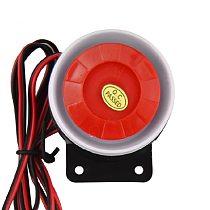 DC 12V Wired Mini Horn Siren Home Security Sound Alarm System 120dB Anti-theft Speaker Buzzer