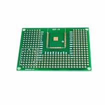 10pcs 5X7CM Double Side Prototype PCB Breadboard Universal Board For Arduino UNO R3 ESP8266 WIFI ESP-12F ESP-12E ESP32S ESP32
