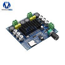 TDA7498 Bluetooth AMP Amplifier Audio Board 2x50W Stereo Digital Power Module Support TF Card AUX For Home Theater