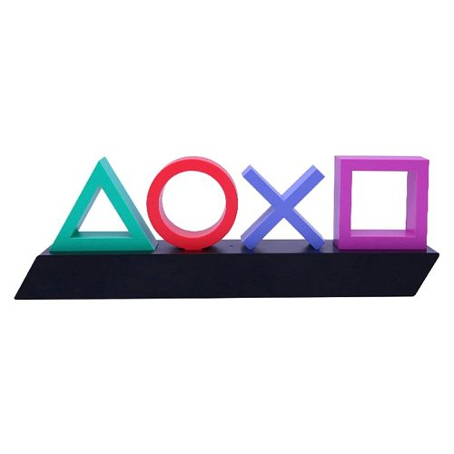 Playstation Sign Voice Control Game Icon Light Acrylic Atmosphere Neon Bar Decor
