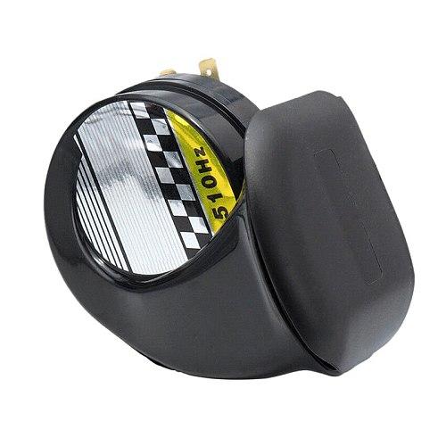 12V Waterproof Loud Snail Air Horn Siren 130dB For Universal Motorcycle Truck