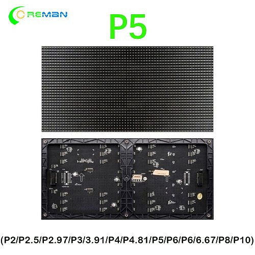 HD video wall p5 led module board unit p5 stadium led display indoor module video matrix panel
