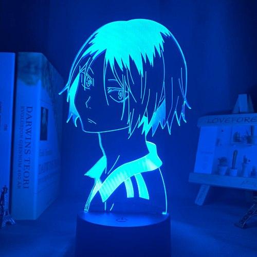 Haikyu!! Led Night Light Anime Kozume Kenma Lamp for Bedroom Decor Nightlight Kids Children Birthday Gift Haikyuu Kenma Light
