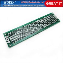 5pcs  2x8cm 2*8 Double Side Prototype PCB diy Universal Printed Circuit Board In Stock