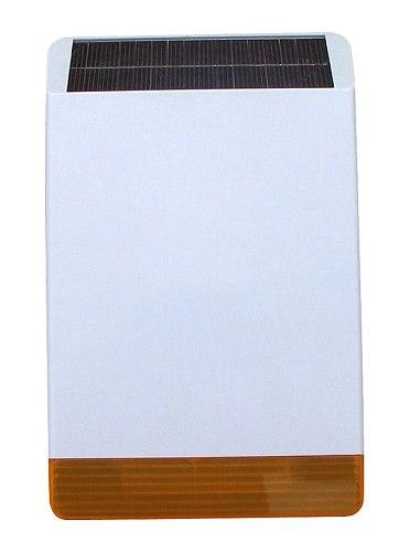 433/868  Wireless  solar power  outdoor  flash  siren  alarm  system  outdoor siren  Anti tamper   solar power alarm siren