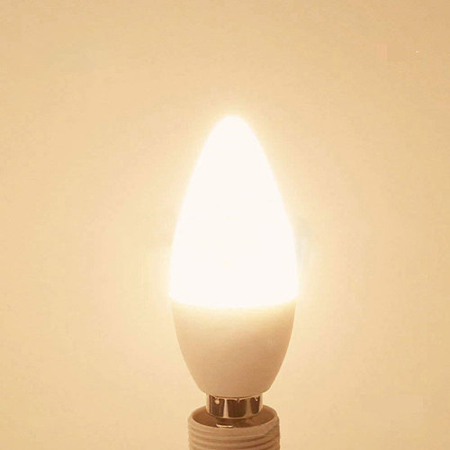 Portable 3W E27/E14/E12/B22 High Brightness RGB Color Changing LED Candle Light Bulb with Remote Control Easy to Install