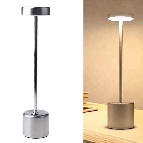 LED Table Lamp Modern Restaurant Dinner Light USB Rechargeable Creative Lighting Decor For Bar Hotel Dinning Room