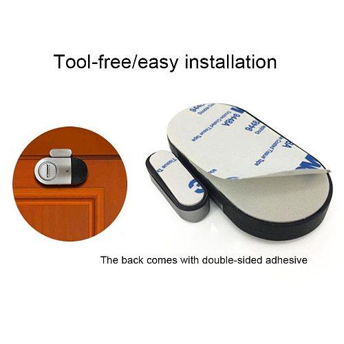 HOT Wireless Door Window Magnetic Sensor Detector Alarm Alert Siren for Smart Home House Security 99