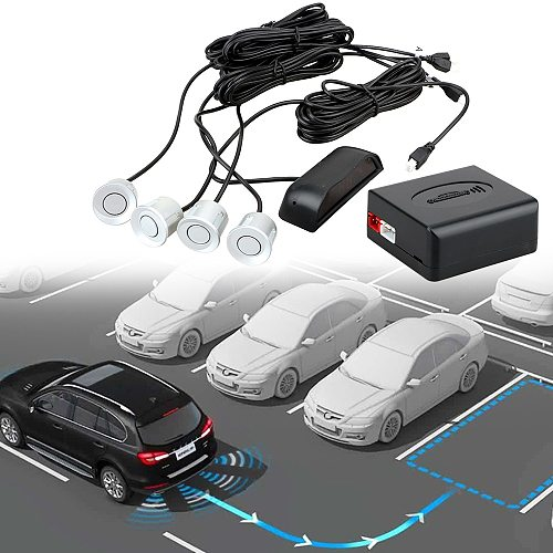 Detector System Backlight Display With 4 Sensors Auto Parktronic Radar Monitor Reverse Backup Car LED Parking Sensor Intelligent