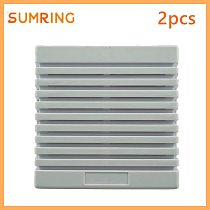 Hot Sales 12V Siren Alarm Indoor Wired Decorative Gray Horns With Dual Tone High Volume