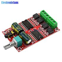 YDA138-E YDA138 Digital Digital Amplifier Board D Audio Stereo 20W+20W HIFI Class AMP Sound Board Module with Volume Control