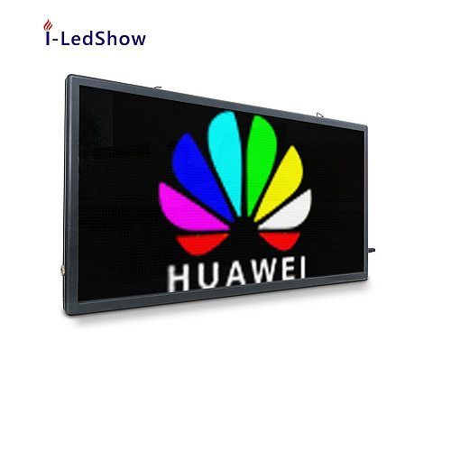 P5 64*128 pixel 55*29cm double side led community screen display programmable led sign board WIFI LED Panel