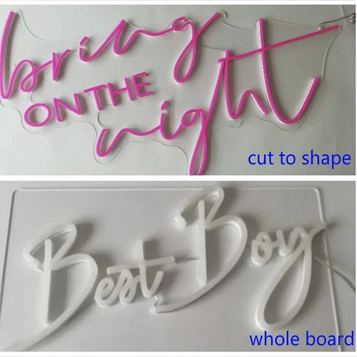 OHANEE Design Custom Led Neon Sign Wedding Party Birthday Bedroom Name Personalized Decoration for Room Indoor