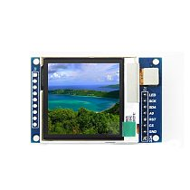 1.6 Inch OLED 1.6  TFT IPS OLED Transflective Display Module LCD Display DIY SPI Serial Port 130*130 Communicate for Arduino