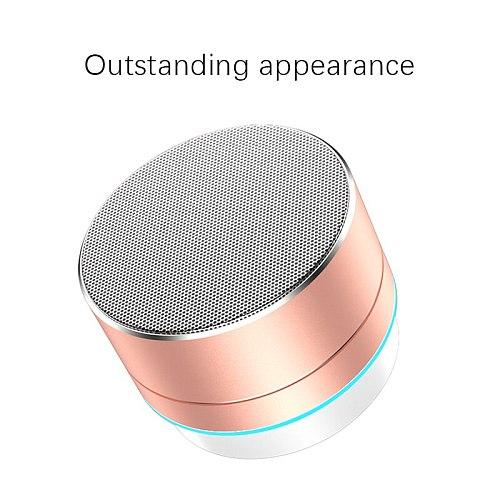 DUORUIMI Mini Wireless Speaker Stereo Music Audio TF USB AUX Stereo Sound Speaker Audio Music Player