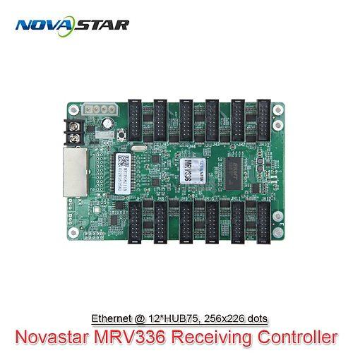 Novastar MRV336 LED Receiving Card 256*226 Pixels 12*HUB75 For Full Color RGB LED Panel Display Screen