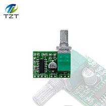 1pcs PAM8403 Mini 5V Power Amplifier Board Support USB Power Supply 3W+3W (Switch potentiometer) 2-Channels Audio module