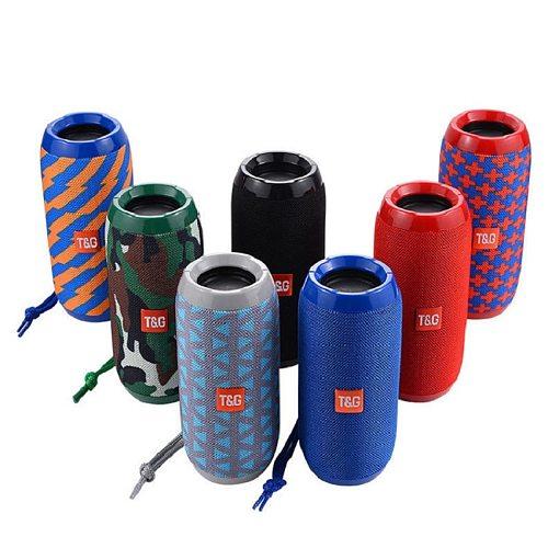 TG117 Portable Bluetooth Speaker Wireless Bass Subwoofer Waterproof Outdoor Speakers Boombox AUX TF USB Stereo Loudspeaker