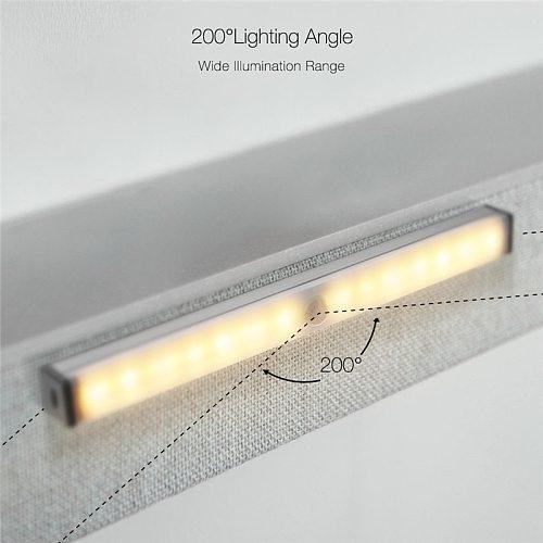 DIGOO 210mm Portable Mini LED Human Body Smart Induction Light Magnetic Adsorption USB Charging 150lm Detector Night Light