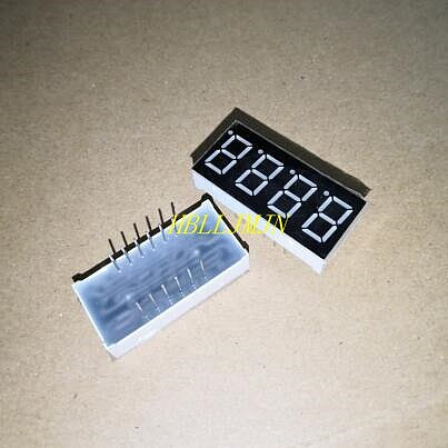 10 PCS LD-5461AS 4 Digit 0.56  RED 7 SEGMENT LED DISPLAY Common anode