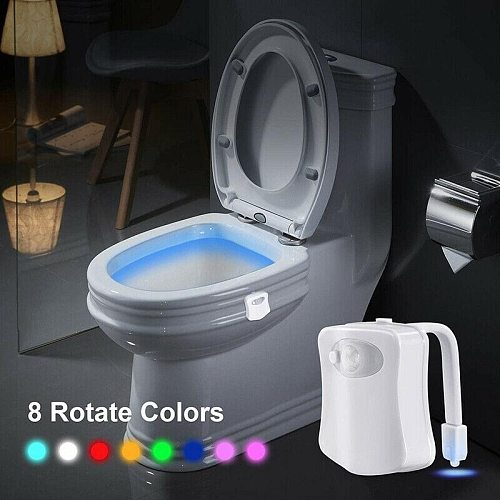 LED Toilet seat Night light Induction lamp Motion sensor WC lamp 8 colors Variable lamp Backlight Used for toilets