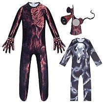 SCP Foundation Siren Head Long horse Cosplay Horror Costume Boys Kids Jumpsuits Mask Dress Halloween
