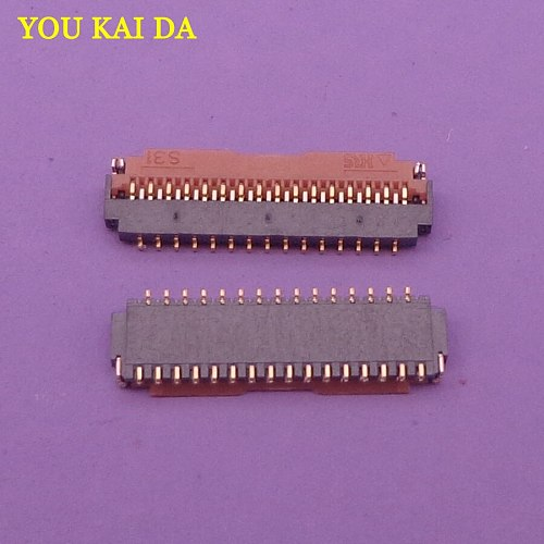 2-100pcs/lot FPC Connector 31 Pin FPC Adapter Spacing 0.3mm 15P+16P Flexible Printed Circuit FPC Connector
