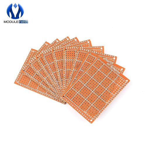 5PCS 5X7 CM 5X7CM 5*7CM Wholesale Universal Bakelite HB Rubber Sheet Hick Joint Hole Board Circuit Multi-function Experiment