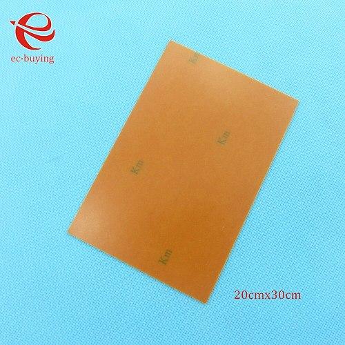 Copper Clad Laminate One Single Side Plate CCL 20x30cm 1.4mm Bakelite Universal Board Practice PCB DIY Kit 200*300*1.4mm