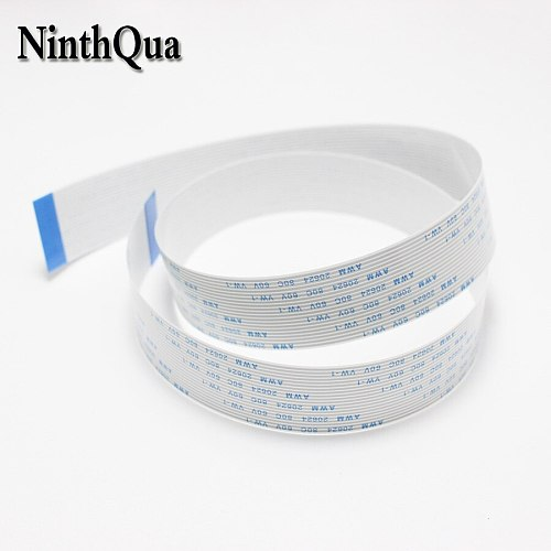 1pcs 1M Length 9Pin 11Pin 12Pin 13Pin 15Pin 17Pin 19Pin FFC FPC Flexible Ribbon Flat Cable Wire For Raspberry Pi Camera Module