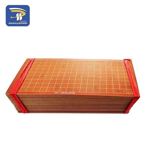1pcs 13x25 cm 13*25cm Single Side Prototype 2.54mm PCB Breadboard Universal Experimental Bakelite Copper Plate Circuirt Board
