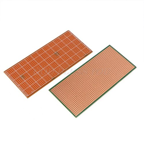 5Pcs 6.5x14.5cm Stripboard Veroboard Uncut PCB Platine Single Side Circuit Board Drop Shipping