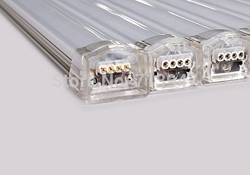 5X  DC5V full color 5050SMD 2812B led rigid digital strip aluminum PCB 32LEDs/m 30pixels/m free shipping