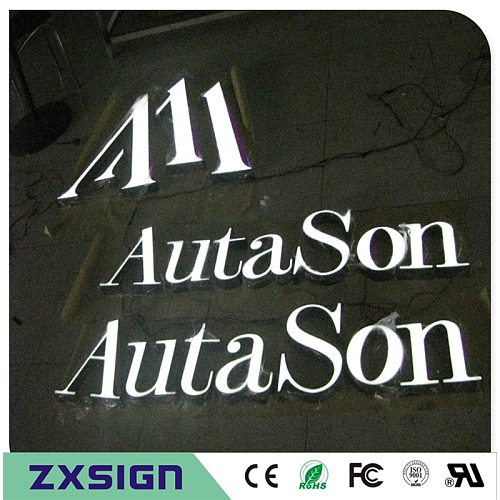 Outdoor waterproof high brightness LED letters store signs, advertising shop signage, illuminated sign letters, custom logo