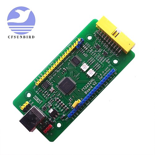 New FT2232HL Development Board FT2232H USB Port Support JTAG openOCD