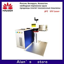 3w/5w uv laser marking machine Fiber laser marking machine is used to mark electronic products such as glass and plastic