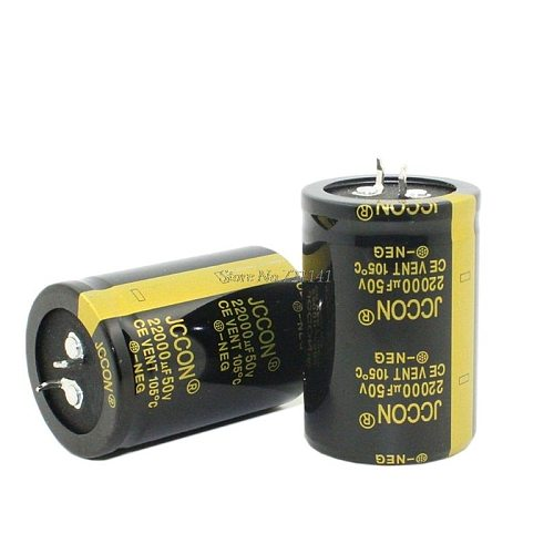 50V 22000uF 35X50mm 35X50 Aluminum Electrolytic Capacitor High Frequency Low impedance Through Hole Capacitor 35*50mm Dropship