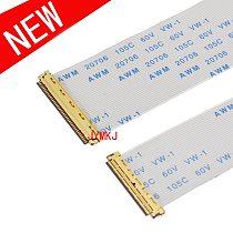 FPC FFC EDP Flexible Flat Cable 0.5mm I-PEX 20453 A/B Type AWM 20706 105C 60V VW-1 30 40Pin