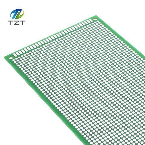 5PCS 9*15 9X15 cm Single Side Prototype PCB Universal Board Copper Experimental Plate Circuirt Hole Bread Board  GREEN