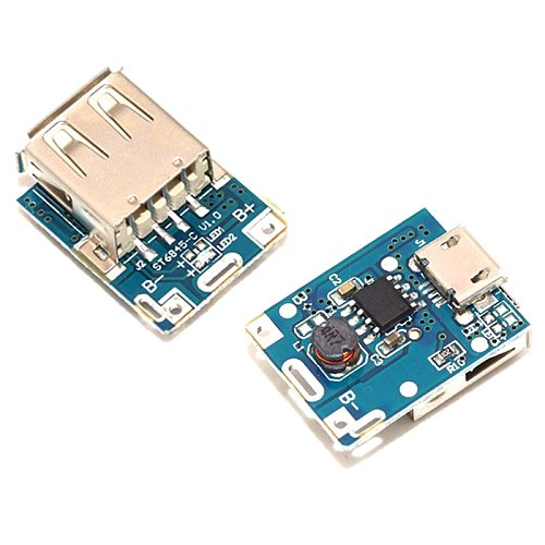 5V Boost converter Step-Up Power Module Lithium Battery Charging Protection Board LED Display USB For DIY Charger 134N3P